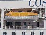 Costa Magica Lifeboat 7 Port of Tallinn 17 May 2018.jpg