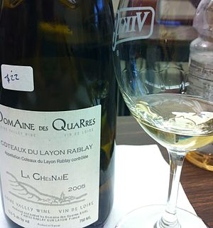 Coteaux du Layon - A wine from Rablay-sur-Layon.
