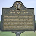 Cotton States Exposition of 1895 historical marker.jpg