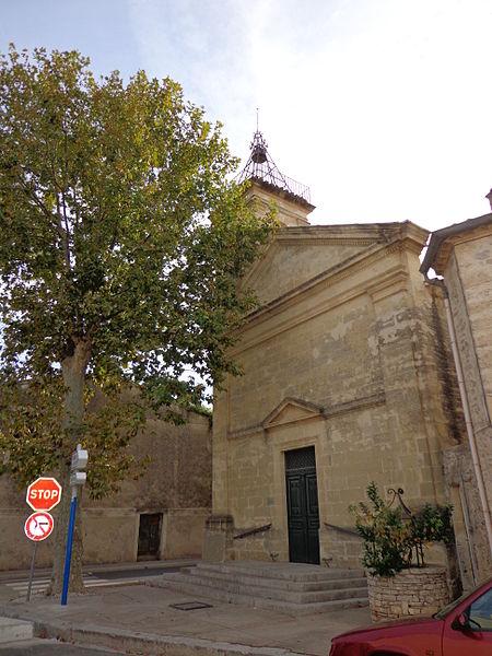 Cournonterral (Hérault) - temple protestant.