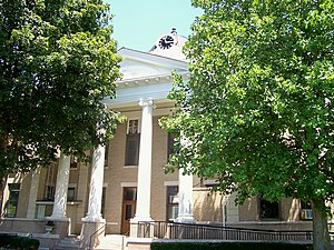 Murray, Kentucky - Calloway County courthouse on Murray's court square