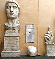 Courtyard sculptures at Musei Capitolini in Rome.jpg