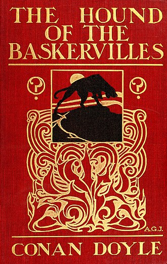 The Hound of the Baskervilles - Cover of the first edition