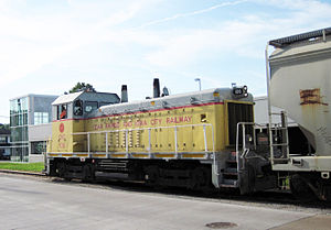 Cedar Rapids and Iowa City Railway - Image: Crandic engine