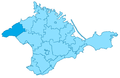 Crimea-Aqmechet locator map.png