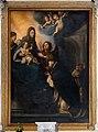 Cristofano allori, san Domenico riceve il rosario dalle mani della Madonna, 1600-10, entro altare di andrea vaccà, 02.jpg