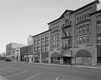 Crookston, Minnesota - Crookston Commercial Historic District