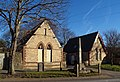 Cross and Cemetery Lodges, Southgate - geograph.org.uk - 330550.jpg