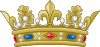Crown of a Prince of the Blood of France (variant).svg