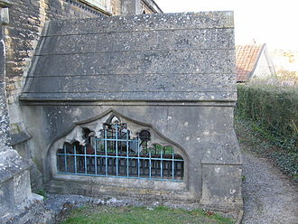 Thomas Ken - Crypt of Thomas Ken at the Church of St John the Baptist, Frome