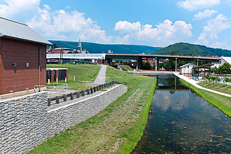 Chesapeake and Ohio Canal National Historical Park - Image: Cumberland Basin looking North