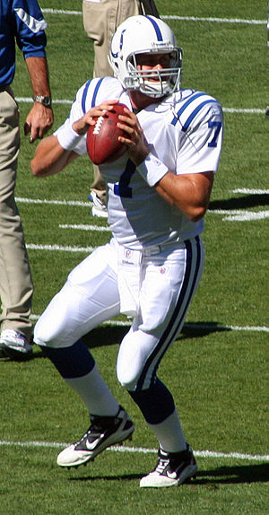 Curtis Painter - Painter with the Colts in 2010