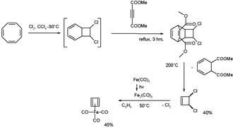 Cyclobutadieneiron tricarbonyl - Cyclobutadieneiron tricarbonyl Synthesis