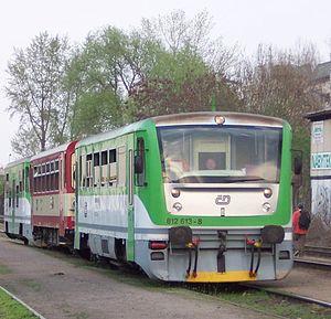 ČD Class 810 - Image: Czech MU812Esmeralda