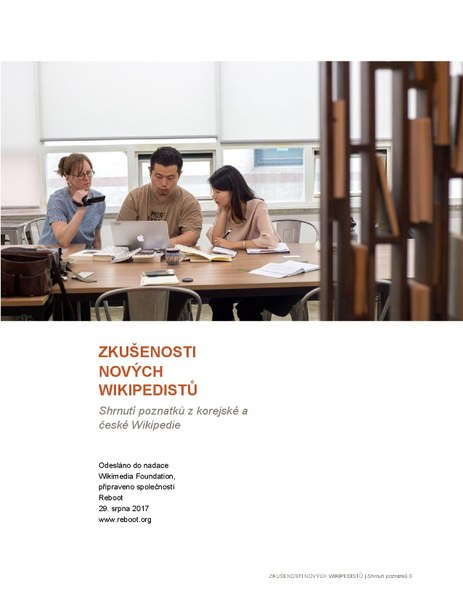 File:Czech translation of New Editor Experiences report.pdf