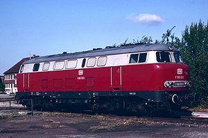 DB Class V 160 - Prototype form 'lollo' example DB 216 003