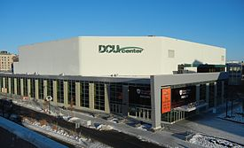 Exterior of DCU Center, 2014