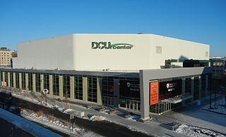 DCU Center Indoor arena in Worcester, Massachusetts