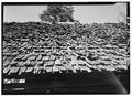 DETAIL- WOOD SHINGLES - Walker Family Farm, Big House, Gatlinburg, Sevier County, TN HABS TENN,78-GAT,1A-3.tif