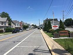Main Street in Clayton