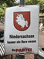 DIE PARTEI Wahlplakate in Hannover 2017.jpg