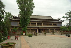 This hall, within Dafosi, is the reputed birthplace of the Mongol Emperor, Kublai Khan