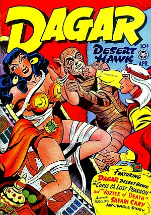 Fox Feature Syndicate - Image: Dagar, Desert Hawk No 15 Fox Features Syndicate, 1948