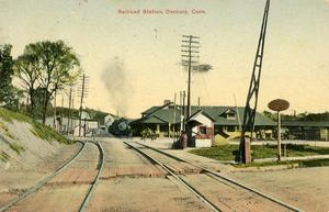 Danbury Railway Museum - Danbury station, ca. 1910