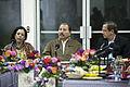 Daniel Ortega, Presidente de Nicaragua recibe a delegación del Ecuador (11195393176).jpg