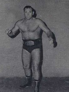 Danny Hodge - WRESTLING NEWS 15 June 1972 VOL 1 NO 1 (cropped).jpg