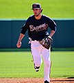 Dansby Swanson takes grounders (25160852872).jpg