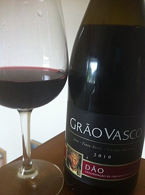 Touriga Nacional -  Portuguese wine from the Dao region that features Touriga Nacional as part of the blend.