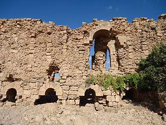 Battle of Dara - Ruins of Justinian's fortifications at Dara