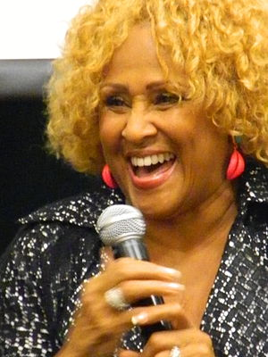Darlene Love - Darlene Love engaging audience at Barnes & Noble Tribeca, June 17, 2013.