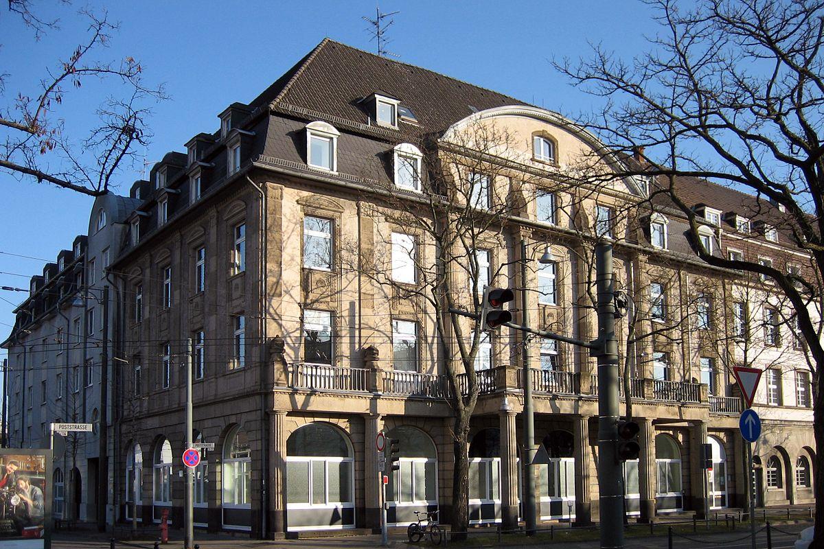 Ehemaliges Hotel zur Post (Darmstadt) - Wikipedia