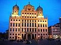 Das Augsburger Rathaus gehört zu den eindrucksvollsten Rathäusern Deutschlands - panoramio.jpg