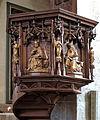 Das Münster St. Johannes in Bad Mergentheim. Neugotische Kanzel.jpg