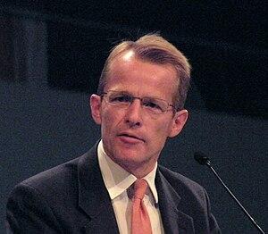 David Laws MP addressing a Liberal Democrat co...