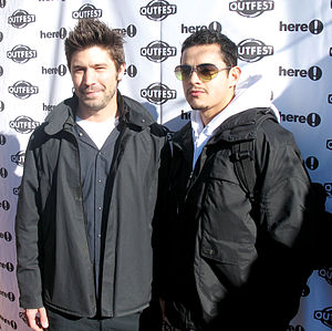 Quinceañera (film) - David W. Ross and Jesse Garcia at the Sundance Film Festival, where Quinceañera premiered, in January 2006