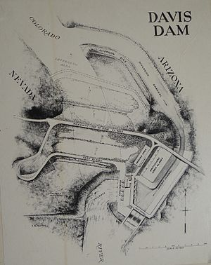 Davis Dam - Original engineering drawings