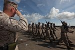 Davis relinquishes command of 2nd MAW, A look back at two years of expeditionary warfare 120524-M-FL266-885.jpg