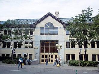 Dawson College - The de Maisonneuve entrance of Dawson College