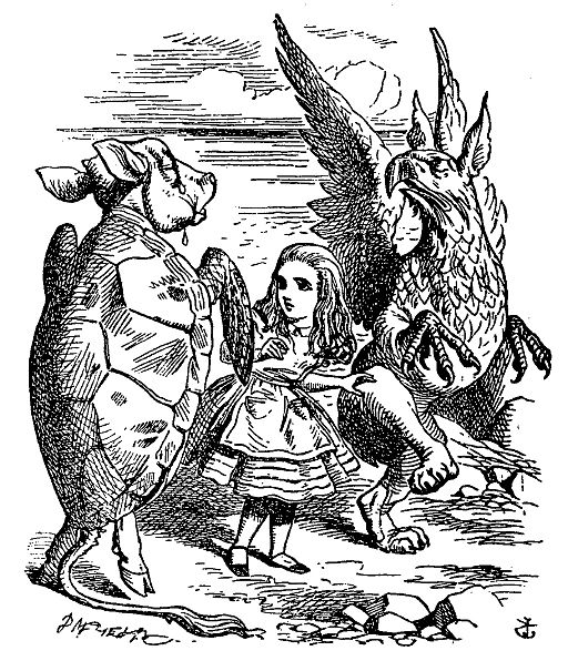 De Alice's Abenteuer im Wunderland Carroll pic 35