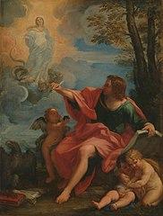 Saint Jean évangéliste à Patmos