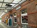 Delfzijl, station perron (2) RM-352059-WLM.jpg