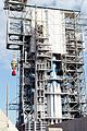 Delta II Heavy second stage mated to the first stage.jpg