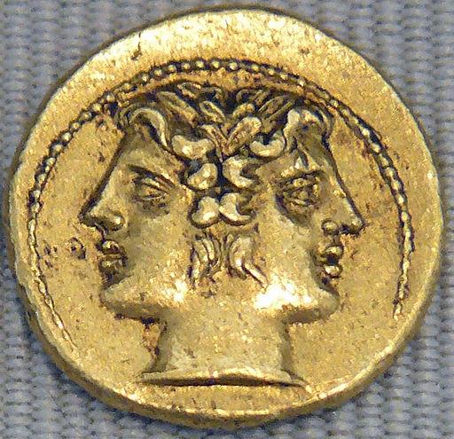 Demi-statère romain C des M