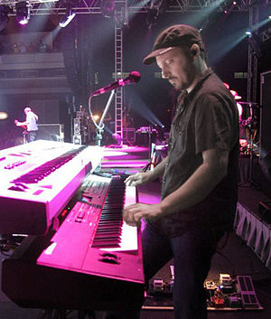 Denny DeMarchi - Denny DeMarchi on keyboard during Cranberries concert in Oct 2010 in Fortaleza, Brazil.