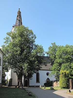 Denzlingen - Image: Denzlingen, die Georgskirche foto 9 2013 07 25 10.16