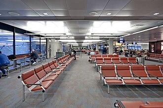 Tucson International Airport - Interior of the B concourse